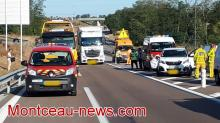 Accident sur la RCEA -  RN 80 (Faits divers)
