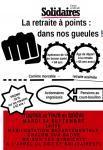 Manifestation le  24 septembre 2019 contre le projet de réforme de retraites à points Macron / Delevoye (Social)