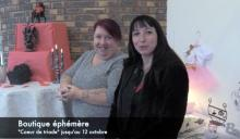 Boutique éphémère à Montceau (Voir la vidéo)