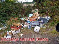 Décharge sauvage à Blanzy