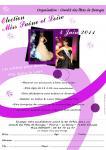Première élection de Miss Saône et Loire