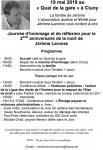 Journée en hommage à Jérôme Laronze dimanche 19 mai 2019 à Cluny
