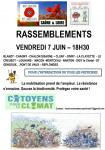 Rassemblements des Coquelicots en Saône-et-Loire (Environnement)