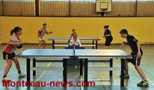 Tennis de table (Montceau-les Mines)