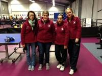Equipe N1 Dames de l'Entente TTC Montceau /UPCV