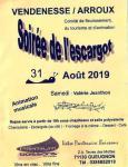 """""""Soirée de l'escargot"""" à Vendenesse-sur-Arroux (Sortir)"""