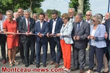 Inauguration du Port de Montceau-les-Mines