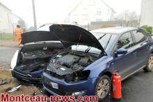 Accident, ce mardi matin à Saint-Vallier