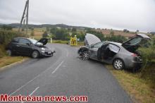 Faits divers -ce jeudi matin,  accident à Marigny