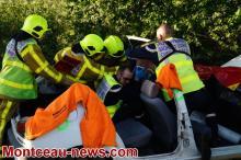 Très grave accident à Toulon-sur-Arroux