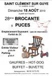 Ce dimanche 18 août à Saint Clément sur Guye  (Sortir)