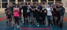 L'association Arts martiaux combat de Montceau...