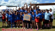 Montceau-les-Mines  RCMB: le Beach Rugby