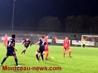 Score final - FCMB : 1 - ASM Belfort FC : 2