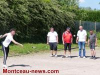 Montceau :  Joyeuse pétanque du Bois-du-Verne