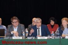Au conseil de Communauté urbaine Creusot-Montceau...