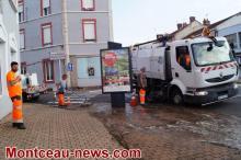 Opération «quartier propre» au Creusot