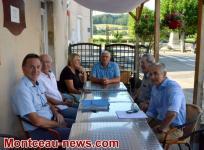 Saint-Romain - Pouilloux  : Le président Marti en visite…