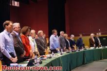 Conseil communautaire au Creusot, à l'Alto, ce jeudi soir.