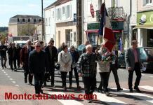 Hommage - Journée nationale de la déportation à Saint-Vallier