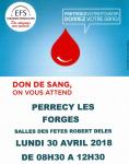 Don du sang (Perrecy-les-Forges)