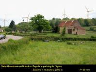 Saint Romain sous Gourdon : Projet éolien