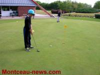 Stages jeunes de golf à Montceau