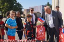 Remise des kits scolaires aux collégiens à St Vallier