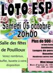 L'ESP organise son loto (Pouilloux)