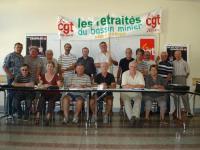 Syndicat CGT des retraités mutipros du Bassin montcellien (Social – Montceau-les-Mines)