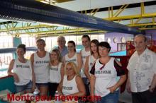 Le centre nautique de Montceau-les-Mines en partenariat avec l'IFSI de la CCM