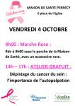 « Octobre rose » (Perrecy-les-Forges)