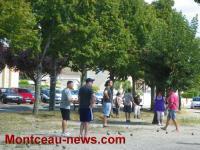 Concours de pétanque (Saint-Vallier)