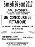 Concours de pétanque (Montceau)
