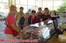 Saint-Vallier  :  Marché des producteurs de pays