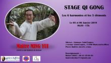 Stage de Qi Gong de « Lumière de Chine » (Montceau)