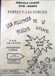 Marche nocturne de la section GYM de l'Amicale Laïque de Perrecy-les-Forges