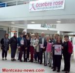 Montceau-les-Mines: Lancement d'Octobre Rose