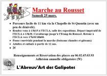 Samedi 25 mars 2017, marche du Rousset à Saint-Vallier