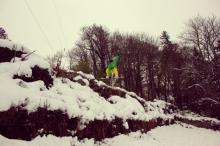 Le... Mont Saint Vincent, premier Spot d'entraînement de la saison pour les jeunes du Ski Club Bassin Minier