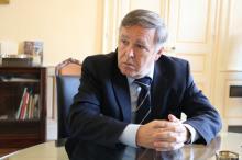 Eric Boucourt, Sous-préfet d'Autun, sur le départ