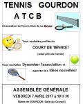 Tennis club de la Beluze (Gourdon)