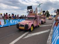 SAÔNE-ET-LOIRE : La magie de la caravane du Tour de France (1/2)