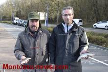 Ouverture de la pêche à la truite (Montceau)