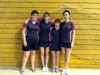 Nationale 3 féminines - Tennis de table Club (Montceau-les-Mines)