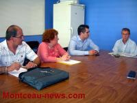 Réunion d'information sur les coupures d'éclairage public à Saint-Vallier