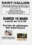 Joyeuse Pétanque des Bois-Francs de Saint-Vallier (Sortir)