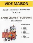 Vide maison à Saint-Clément-sur-Guye