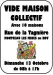Vide-maison collectif à Montceau