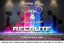 Le Feeling Dance Saint-Vallier recrute...